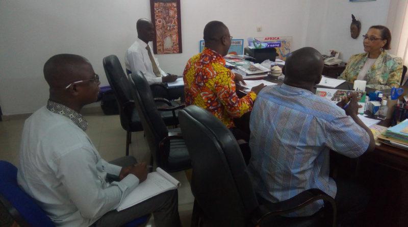 Plaidoyer du Forum des ONG avec La Conseillère Spéciale du Médiateur De La République