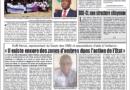 Publication  du Journal «Le Jour Plus»